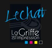 Logo imprimerie lechat